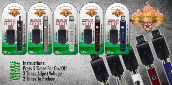 Fly Fresh 900 MAH 510 Variable Voltage